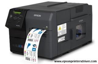 Epson ColorWorks C7500 Driver