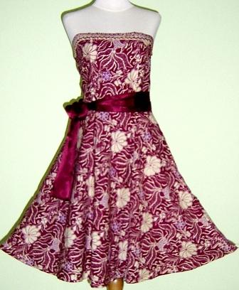 Dress Batik From Indonesia