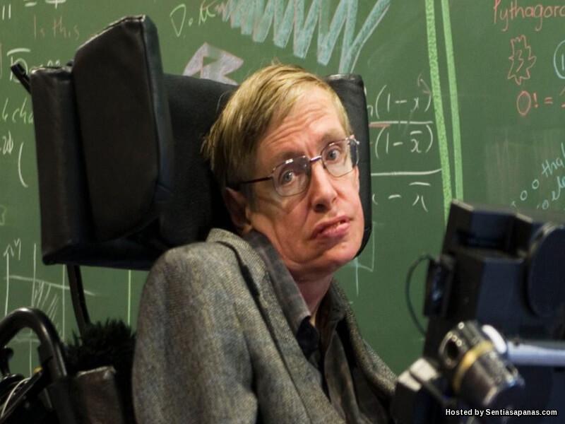 Genius Fizik Stephen Hawking Meninggal Dunia