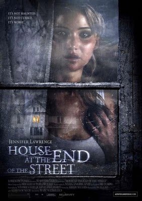 House at the end of the street Movie starring Jennifer Lawrence, the lead actress of the Hunger Games.