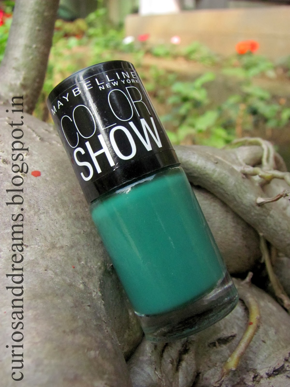 Maybelline Color Show Tenacious Teal Review