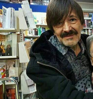 Paco Escudero a Serretllibres, llibreria Serret, Valderrobres