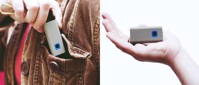 Gambar unique pocket digital camera