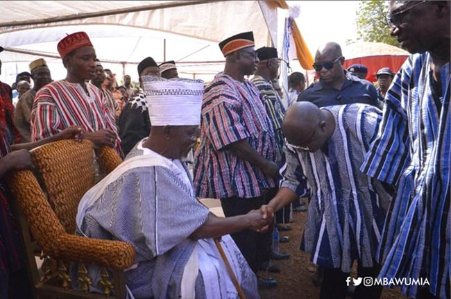 VP Bawumia Celebrates Kakube Festival With The People Of Nandom