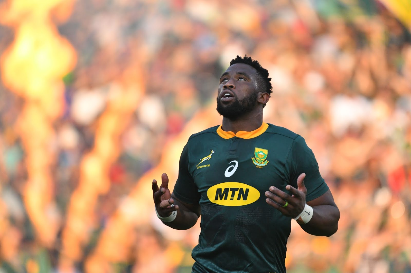 Siya Kolisi in his Test against New Zealand