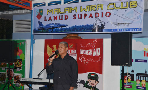 Danlanud Supadio, Marsekal Pertama TNI Minggit Tribowo, S.IP  Foto Kapentak Danlanud Supadio