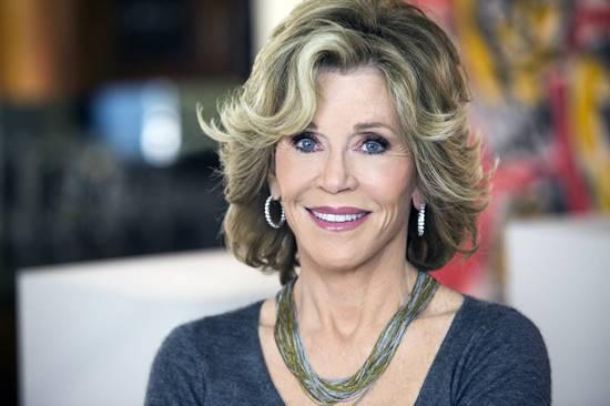 Aos 80 anos, Jane Fonda continua rebelde