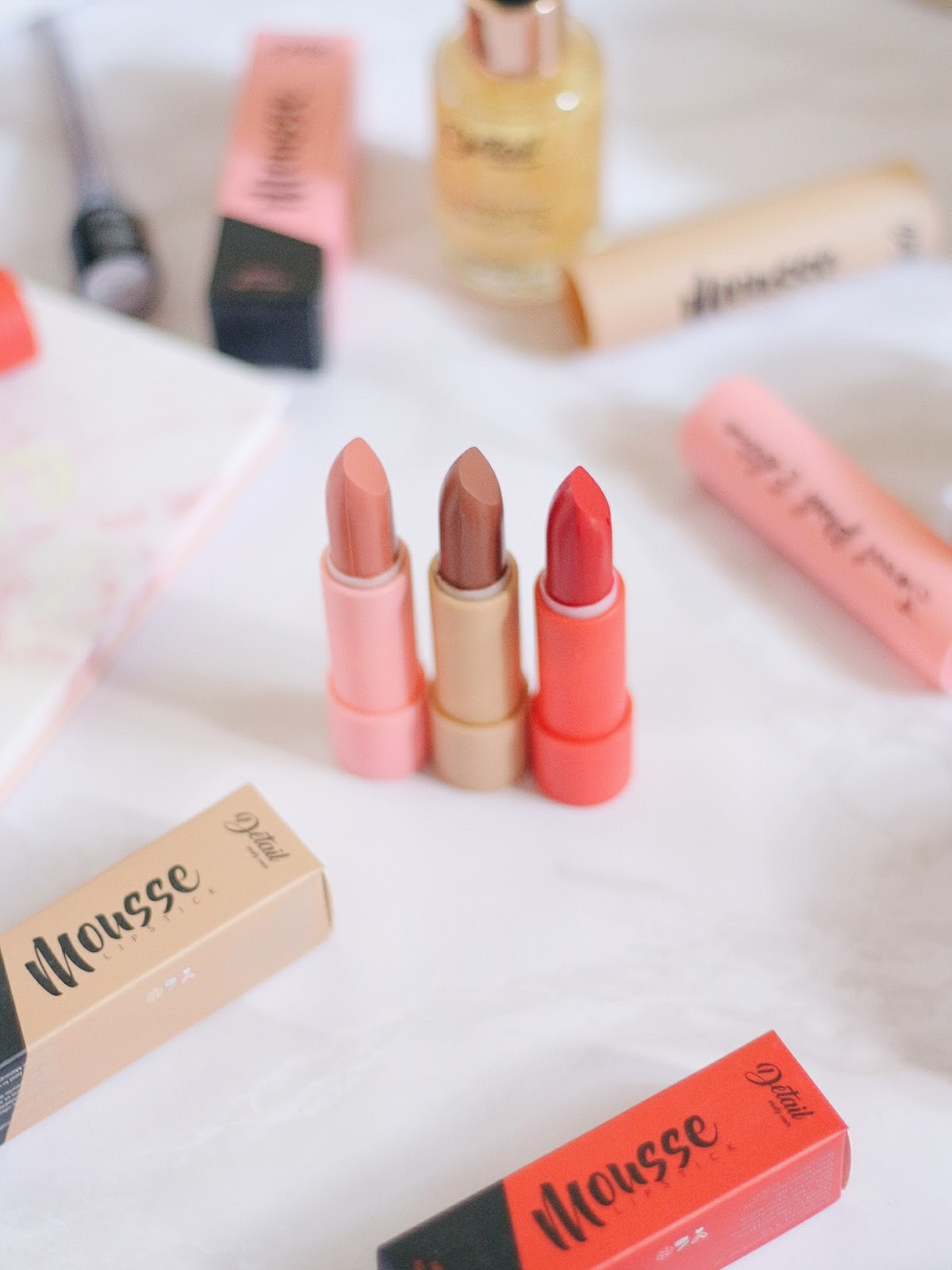 Detail Makeover Mousse Lipstick Review Swatch