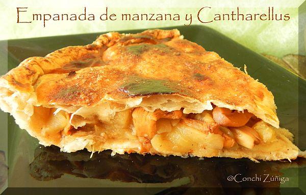Empanada De Manzana Y Cantharellus.