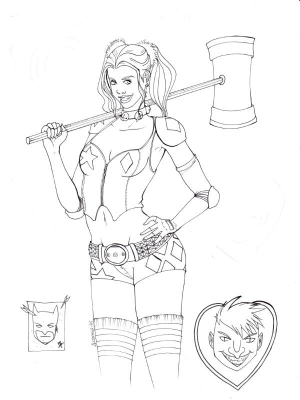 [En cours] Harley Quinn Harley_quenn03