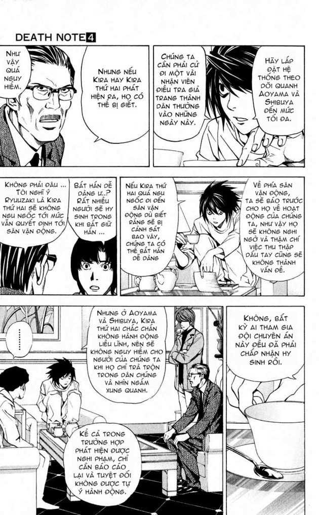 Death Note chapter 028 trang 9