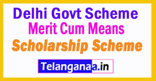 Merit Cum Means Scholarship Scheme Launched in Delhi Govt