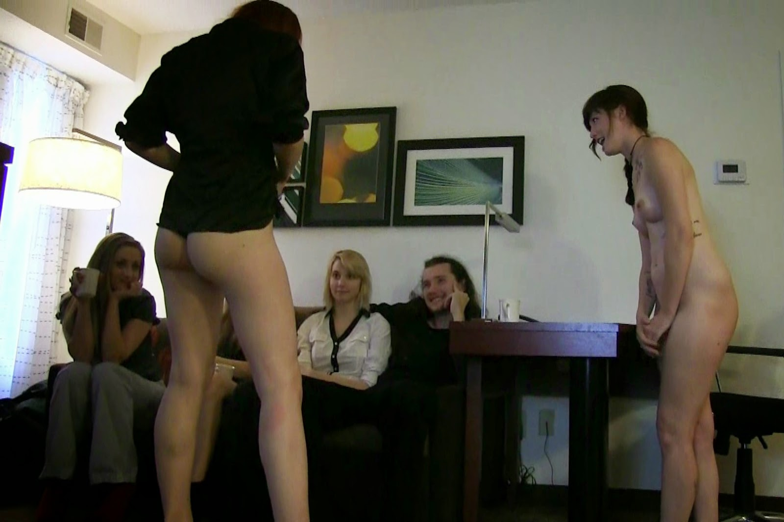 Lost Bet Strip Naked 108