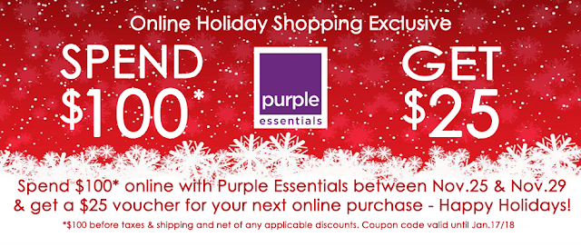 Fill Your Christmas Gift List Online with Purple Essentials - Shop Now