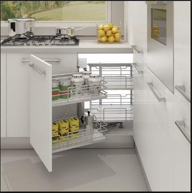 Phụ kiện tủ bếp đa năng giúp bạn tận dụng từng mm phòng bếp