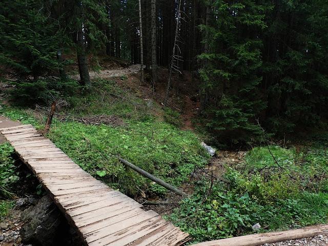 Mostek to chyba najbardziej emocjonujące miejsce tego szlaku ;)