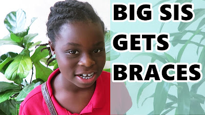 Big Sis Gets BRACES - DNVlogsLife