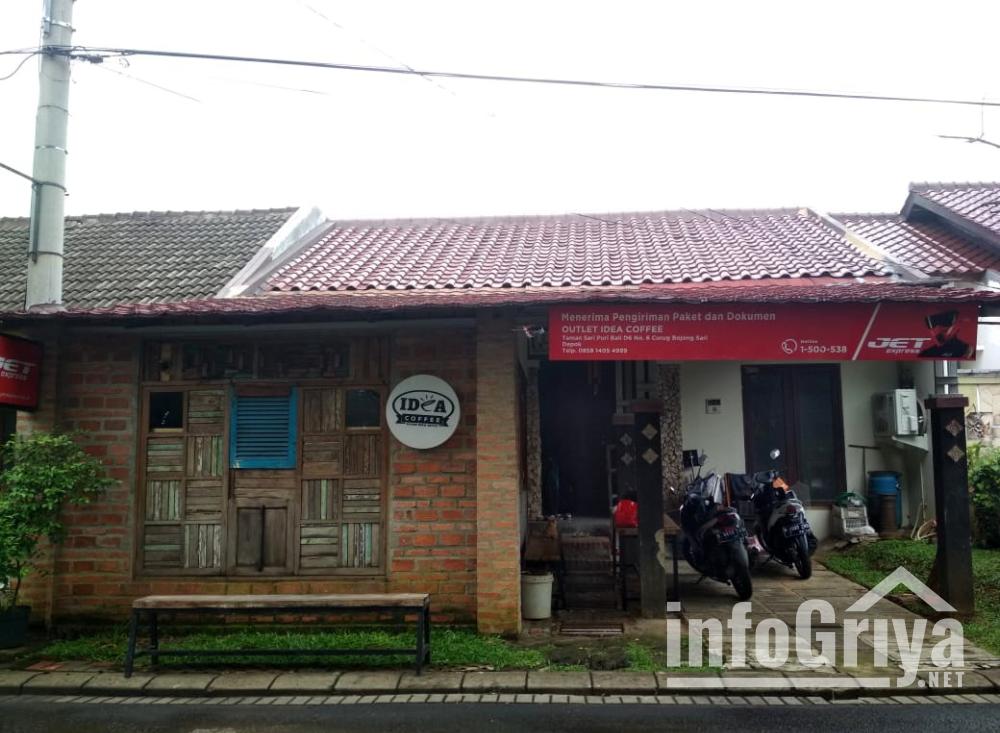 Dijual Rumah - Rumah dijual di Depok Bojongsari lokasi strategis di pinggir jalan perumahan
