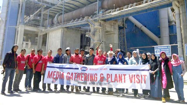 Hal-hal Menarik Saat Kunjungan Ke Pabrik Bosowa Semen