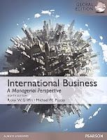 Judul Buku : INTERNATIONAL BUSINESS A Managerial Perspective Eighth Edition Global Edition