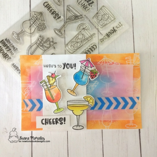 Here's to you by Diane features Cocktail Mixer by Newton's Nook Designs; #newtonsnook