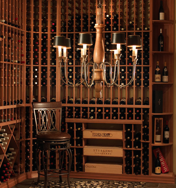 Design classic interior 2012 c mo almacenar los vinos - Estanterias de vino ...