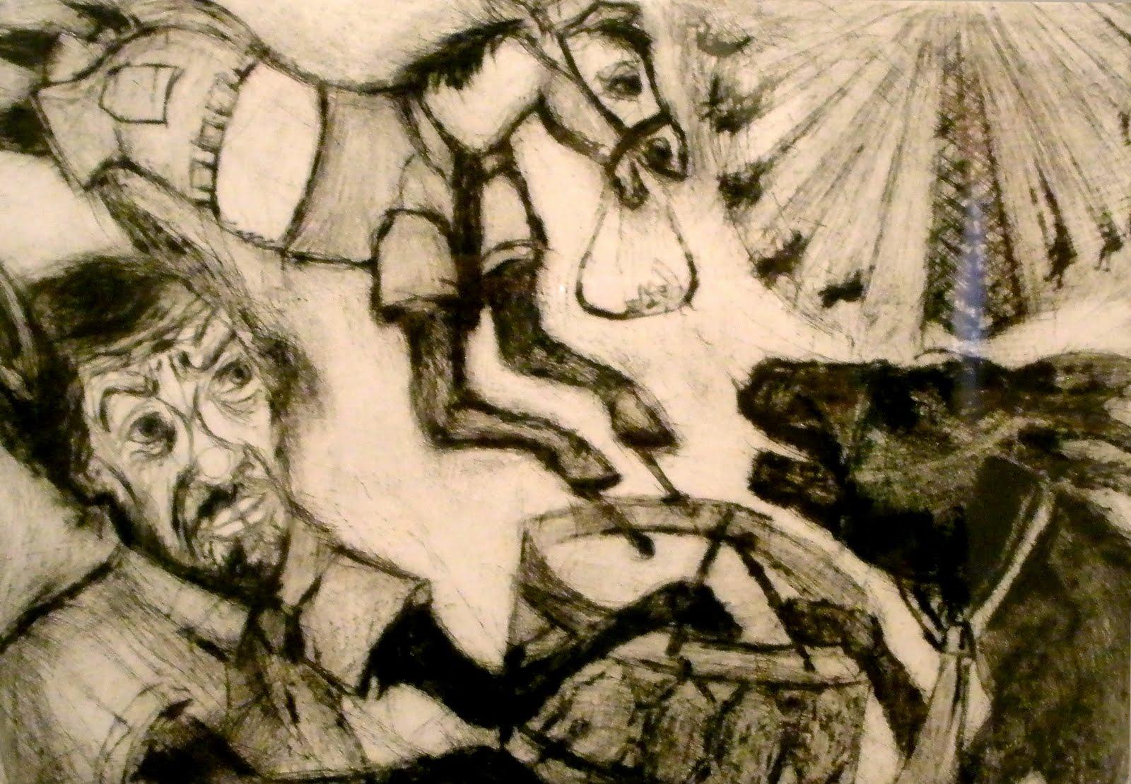 vista de unas de las obras que conforman El Pinocho