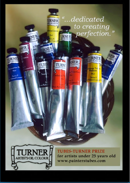 painters TUBES-TURNER prize