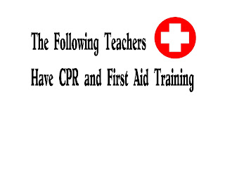 Ontario Teachers Need First Aid and CPR Training
