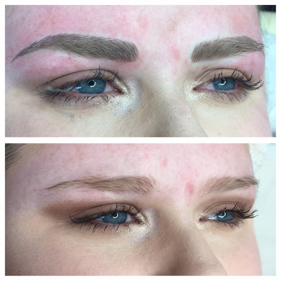 Little Fickle: Hairstroke Eyebrow Tattoos - My Experience