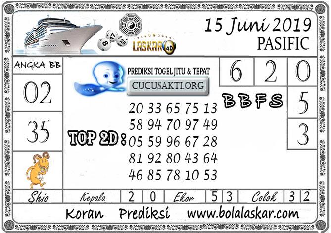 Prediksi Togel PASIFIC LASKAR4D 15 JUNI 2019