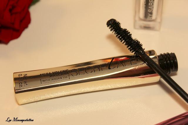 Mascara Bell Secretale - Blog beauté Les Mousquetettes ©