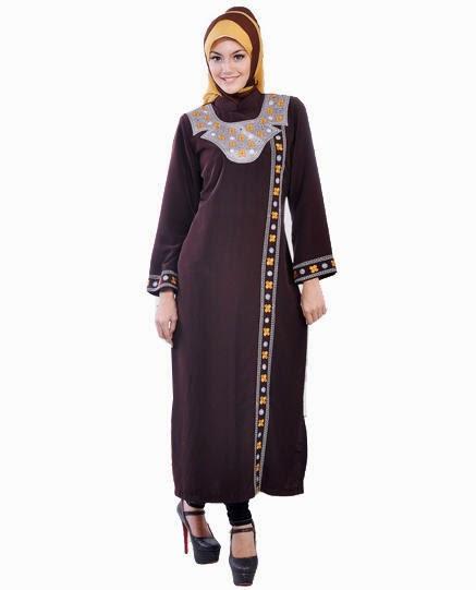 10 Contoh Desain Baju Muslim Wanita Masa Kini