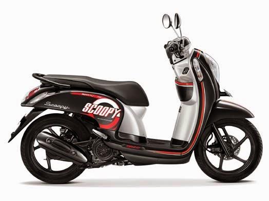 Honda Scoopy eSP Sporty Metro Black