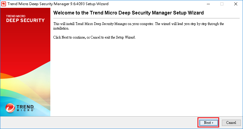 Deep Security Manager 96
