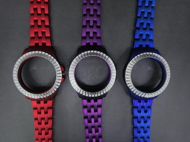 Colourful Watch Case Dummy