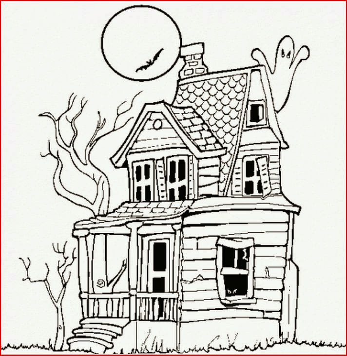 Halloween Coloring Pages Coloringfilminspector