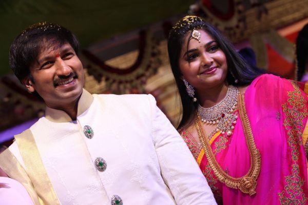 Actor Gopichand Married Reshma Wedding Photos