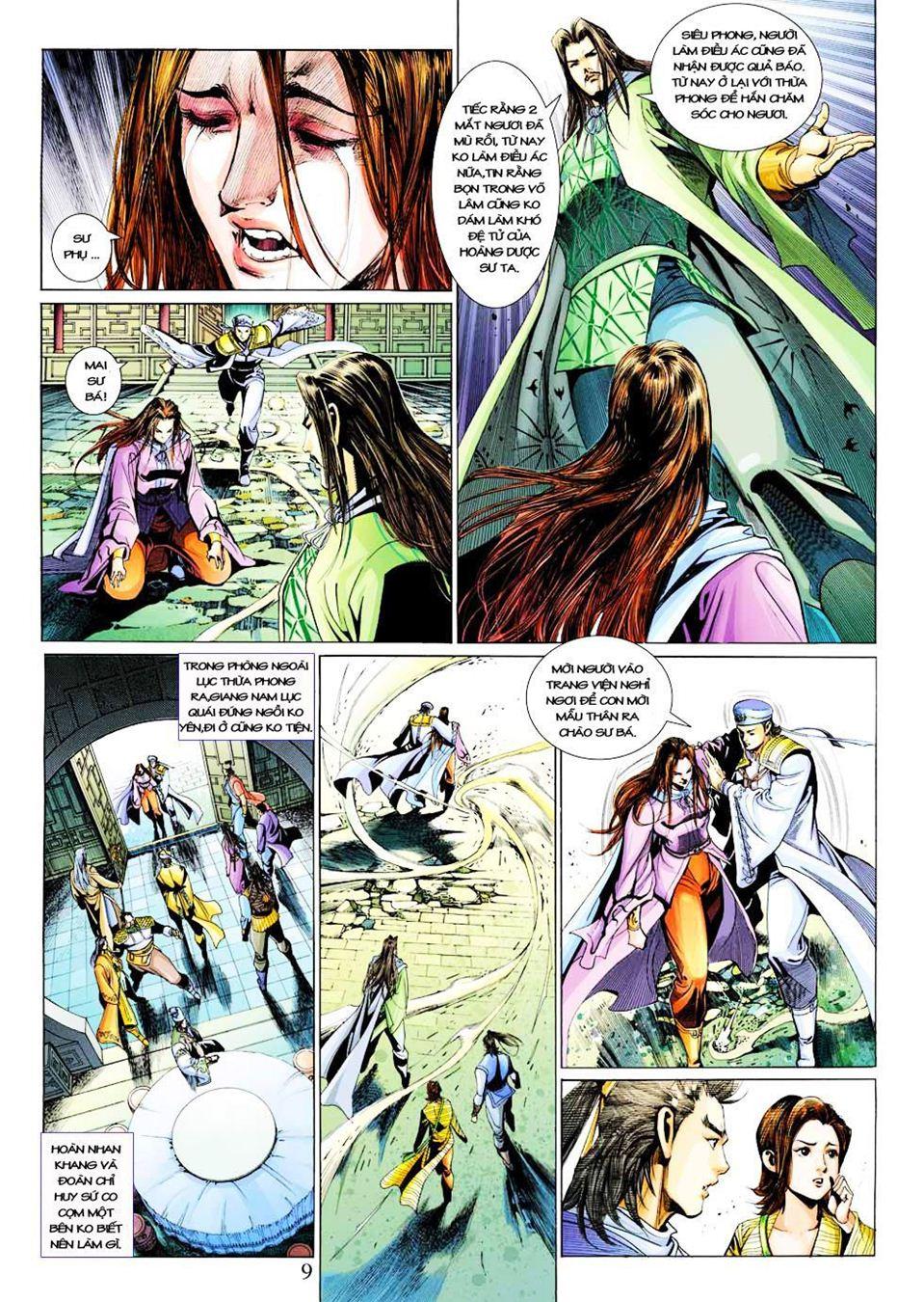 Anh Hùng Xạ Điêu anh hùng xạ đêu chap 33 trang 9
