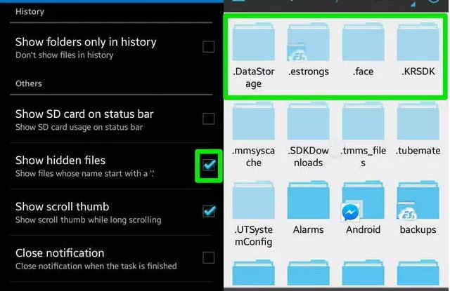 View Hider Hidden Files In Android Without Root Technology Guru