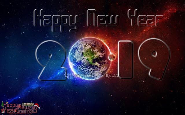 New Year 2019 HD Desktop Wallpaper Download 1024p x768p
