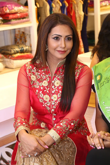 Nandini Rai in Floor Length Anarkali at Grand Opening Of Disha Boutique