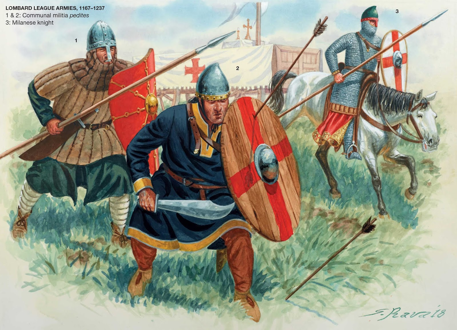 1325 Armies of the Medieval Italian Wars 1125