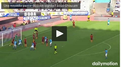 Vidéo : La passe décisive de Faouzi Ghoulam face à la Roma