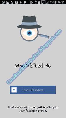 Aplikasi Pengintip | Cara Mengetahui Orang Yang Sering Melihat Profil FB Kita Lewat HP