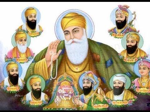 Name of Ten Sikh Gurus and Their Family