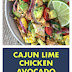 Cajun Lime Chicken Avocado Corn Salad