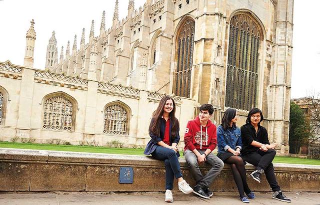 Поступление в Кембридж