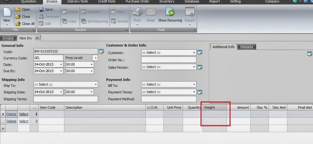Xin Inventory - network invoice software create quotation, invoice - custom invoice software
