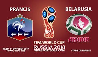 Prediksi Prancis vs Belarusia 11 Oktober 2017